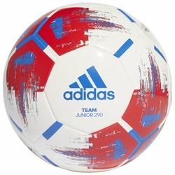 adidas Piłka Nożna Team J290 FJM34 CZ9574 - Biały || Czerwony