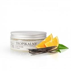 Fresh and Natural, Solny peeling do ciała TROPIKALNY, 250g
