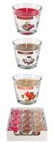 Bispol, sn90, Aurelia, świece zapachowe w szkle,  Mix SweetCream, karton 12 sztuk