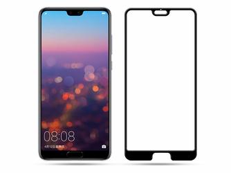 Szkło Mocolo 3D na cały ekran Huawei P20 czarne