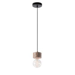 Lampa wisząca ARRAKIS Ø13cm naturalne drewno - 1