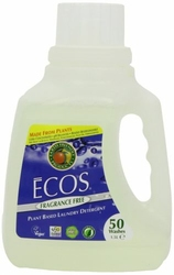 Earth Friendly Products, ECOS Bezzapachowy Płyn do Prania, 1,5L