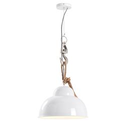 Biała lampa wisząca GIGE metalowa