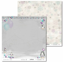 Papier zimowy Arctic Sweeties 30,5x30,5 cm - 02 - 02