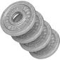 4x0,5 kg Zestaw obciążeń żeliwnych na sztangę 30 mm Gorilla Sports