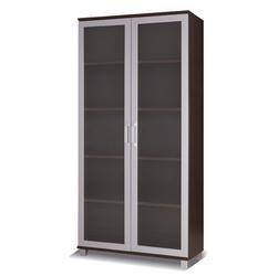 Regał ze szklanymi drzwiami Musima 100 cm