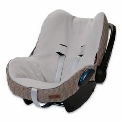 Babys Only, Cable Taupe Ochraniacz na fotelik samochodowy 0+, brązowy
