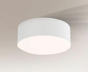 Shilo :: Oprawa natynkowa Tottori Il Round biała Ø10cm - okrągły