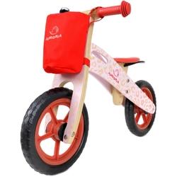 Junioria Happy Way Różowy Rowerek biegowy + Prezent 3D