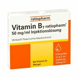 Ratiopharm 50mgml ampułki z witaminą B1
