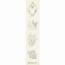 Ozdobny pasek z pisankami Easter Bunny - 03 - obrazki