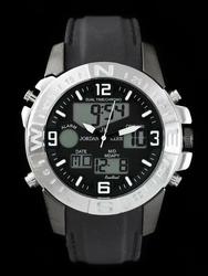 Męski zegarek JORDAN KERR KONKRETO - DUAL TIME zj058a