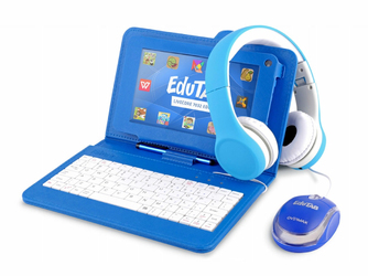 Tablet Edukacyjny dla dziecka EduTab Klawiatura + Mysz + Słuchawki