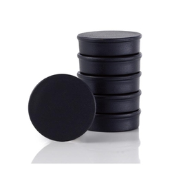 Zestaw sześciu magnesów czarnych Muro Blomus