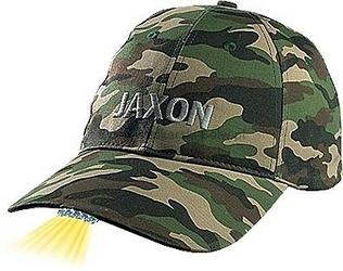 Czapka z latarką w daszku Jaxon - moro jasna