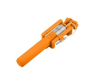 NATEC Selfie stick Monopod przewodowy pomarańczowy SF-20W