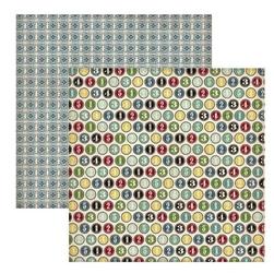 Papier 30,5x30,5 cm TimesandSeasons2 -NumberCircl - 09