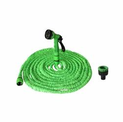 Wąż ogrodowy teleskopowy rozciągliwy 15M - Zielony