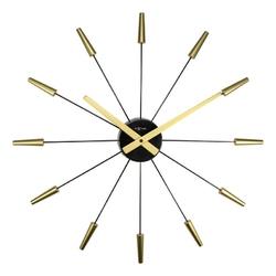 Zegar ścienny Plug Inn złoty