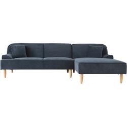 Sofa nowoczesna Dybe ciemnoniebieska