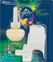 Brise, Lively Floral Garden, elektryczny odświeżacz powietrza w płynie, urządzenie, 20 ml