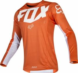 BLUZA OFF-ROAD FOX 360 KILA ORANGE