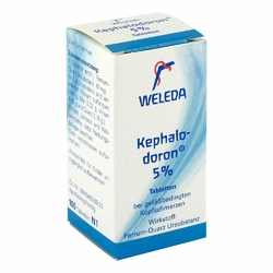 Weleda Kephalodoron 5 tabletki
