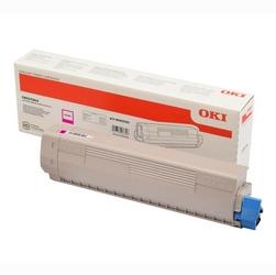 OKI oryginalny toner 46443102, magenta, 10000s, high capacity, OKI C833, C843