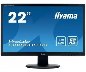 IIYAMA 22 E2283HS-B3 FLHD,HDMI,DP,TN, 2x1W
