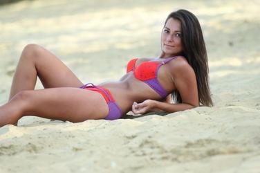 Kostium kąpielowy Primavera czerwony