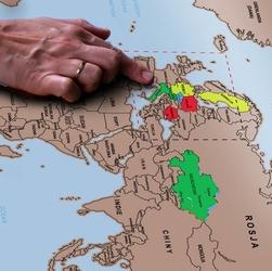 Mapa Podróżnika - Wersja Polska