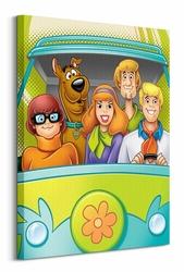 Scooby Doo Crew - Obraz na płótnie