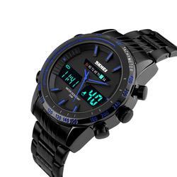 Zegarek MĘSKI TACHOMETR LED SKMEI 1131 blue - BLUE