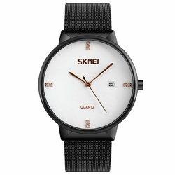 Zegarek SKMEI 9164 Stainless Steel MESH white - WHITE