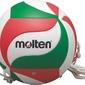 MOLTEN Piłka Siatkowa Treningowa z Gumką V5-M9000