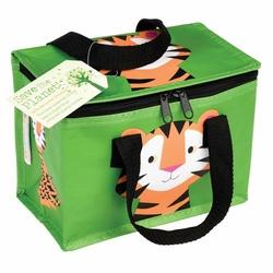 Kolorowa torba termiczna na lunch tygrys Rex London