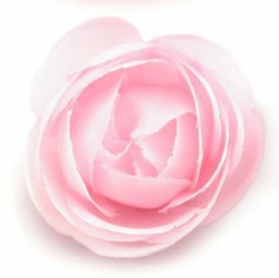 Mini róża do cardmakingu 35 mm - różowy jasny - różowy jasny