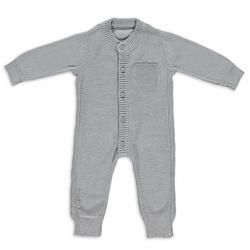 Babys Only, Pajacyk tkany, Jasnoszary, rozmiar 68cm