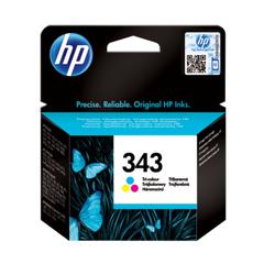 HP 343 oryginalny wkład atramentowy trójkolorowy