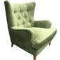 Fotel Joy zielony aksamit - zielony