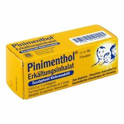 Pinimenthol Erkaelt.inhalat Euckief Tropfen