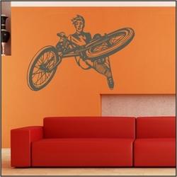 Naklejka welurowa rower bk6