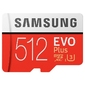 Samsung Karta pamięci 512GB MB-MC512GAEU EVO+ mSD +Adapter