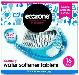 Ecozone, Tabletki Zmiękczające Wodę w Pralce, 16 szt.