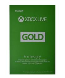 Xbox Live Gold 6 miesięczny abonament