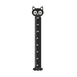 naklejka miarka wzrostu kotek 40