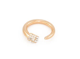 Pierścionek cube gold - GOLD