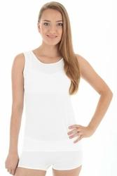 Brubeck bezrękawnik damski ta 00510A biały koszulka