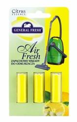 General Fresh Cytrynowy, odświeżacz do odkurzacza, 3 sztuki