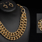 Komplet biżuterii chain gold - GOLD